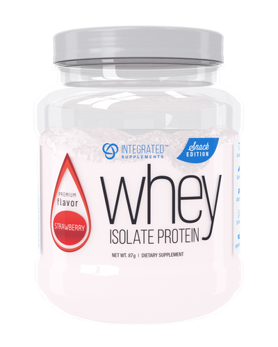 Whey Isolate Protein Snack Edition: Premium Flavor Strawberry