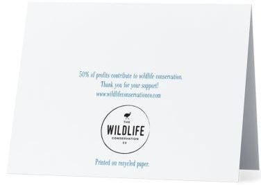 Mother's Day Card | Printed on 100% Recycled Paper | Helps Endangered Species