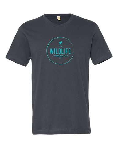 100% Organic Cotton Wildlife Conservation Co Tee Shirt | Fair Trade | Ethical | FREE Shipping | Helps Endangered Species