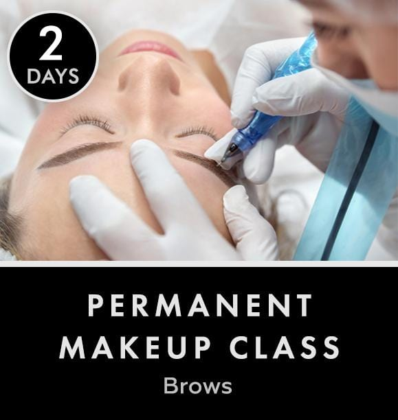 Permanent makeup Class - Brows | 2 days