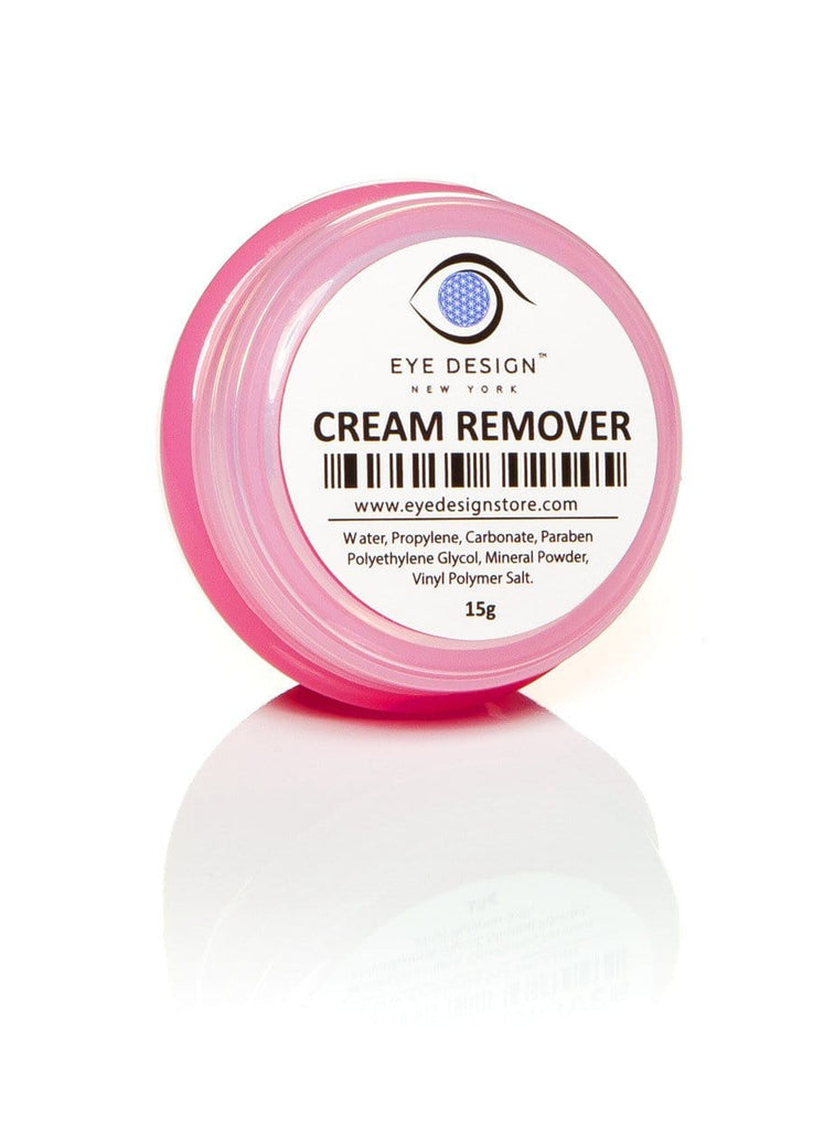 Eyelash Extensions Cream Remover