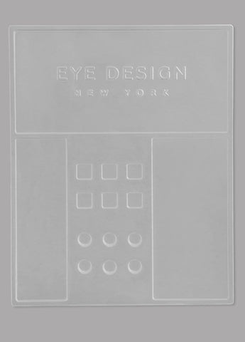 Disposable Tray for Microblading/Powder pigments and Lash Extensions