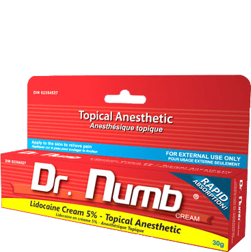 Topical anesthetic Dr. Numb