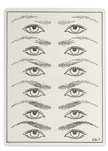 Practice Skin - Shapes of Eyebrows