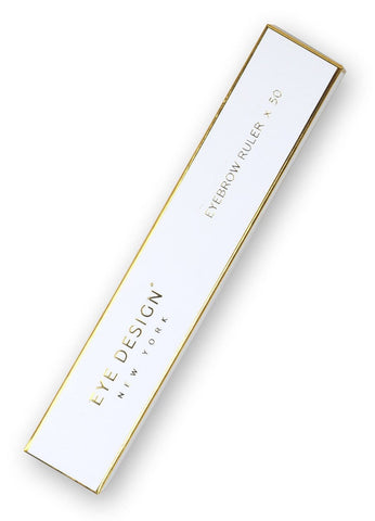 Eye Design Eyebrow Ruler