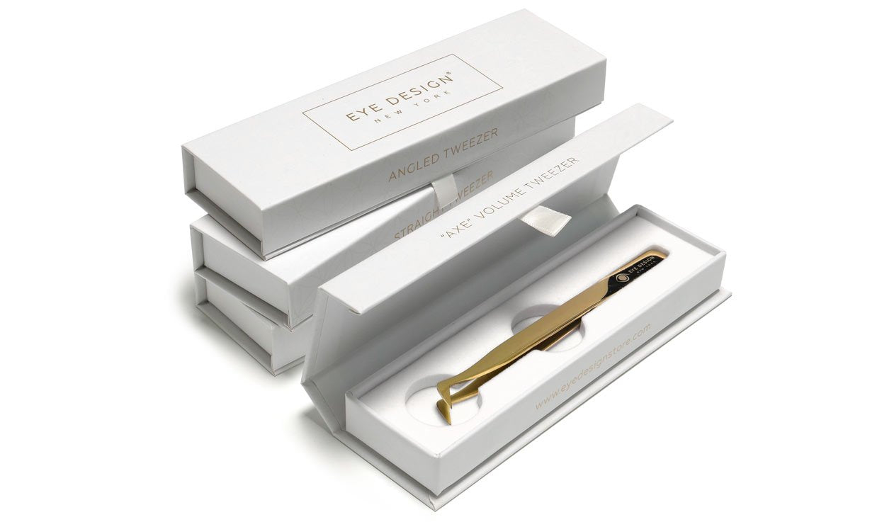 New gold tweezers