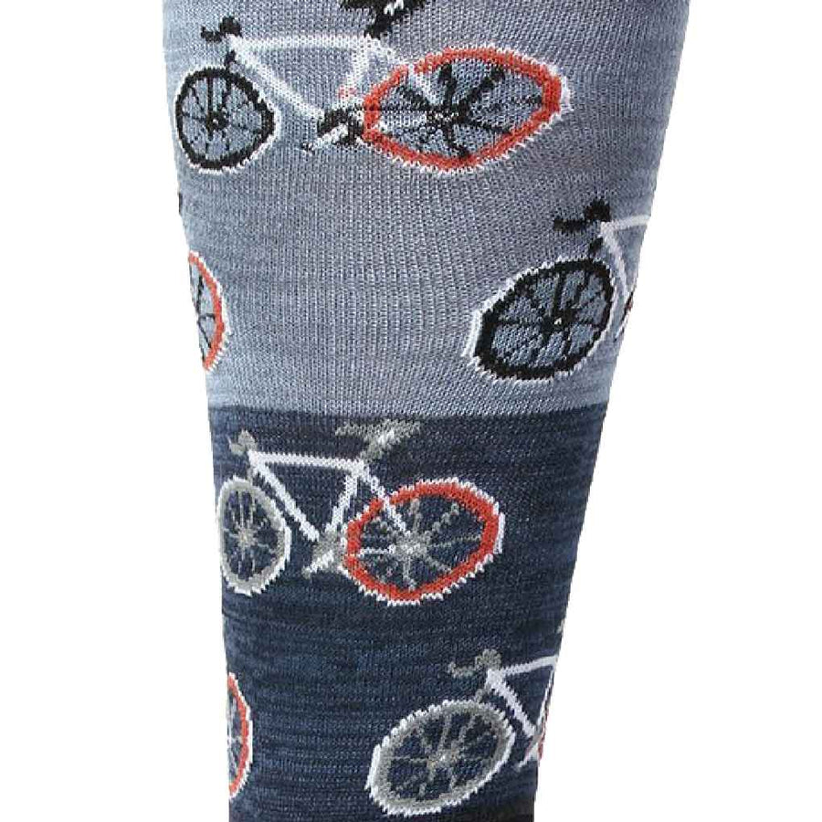 men's socks - bicycles