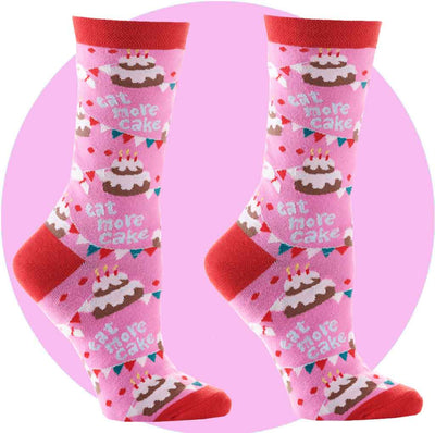 women's socks - birthday bash