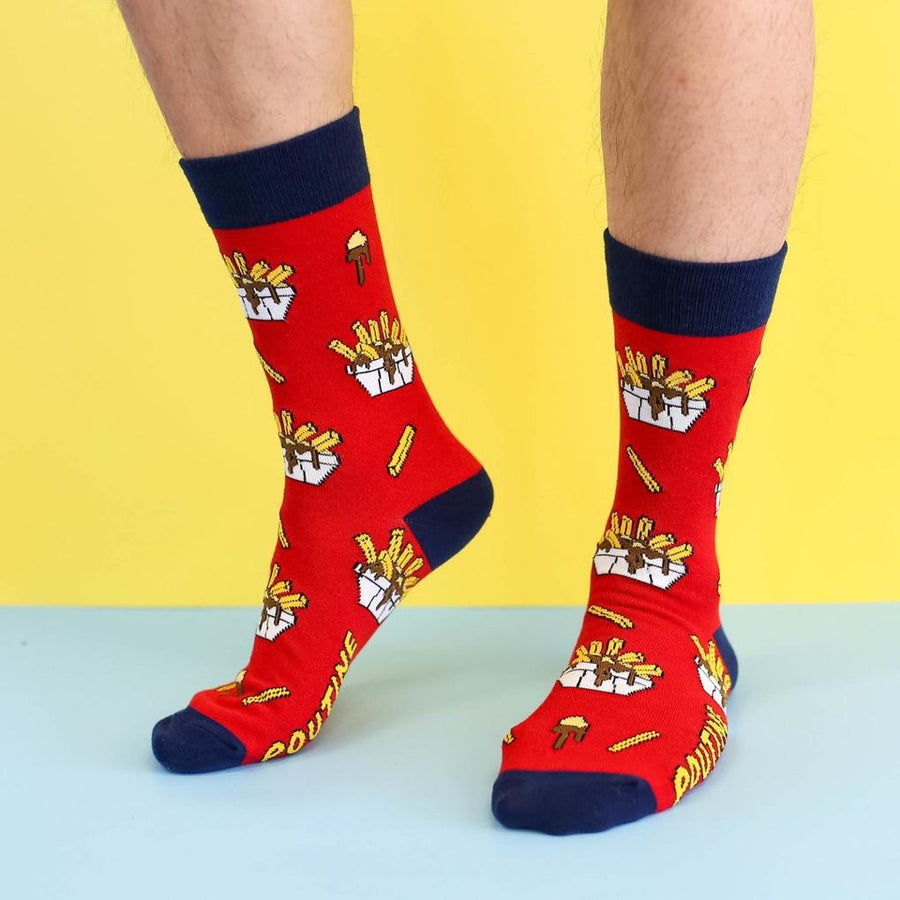 Men's Socks - Canadian Poutine