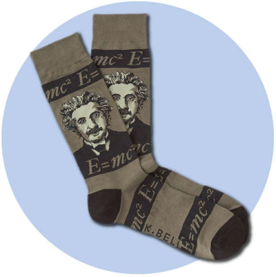 Men's Socks - Einstein