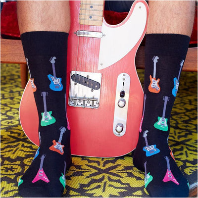 Men's Socks - Electric Guitar