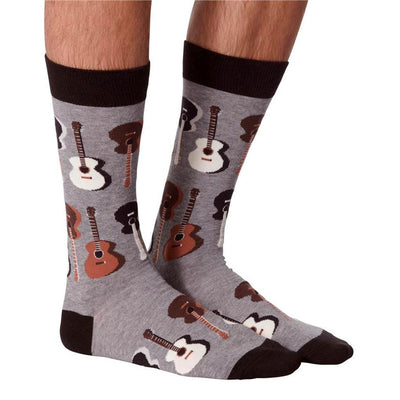 Men's Socks - Guitar