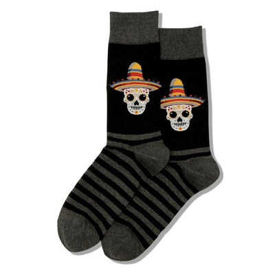 Men's Socks - Sombrero Sugar Skull