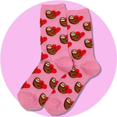 womens socks - sloth love
