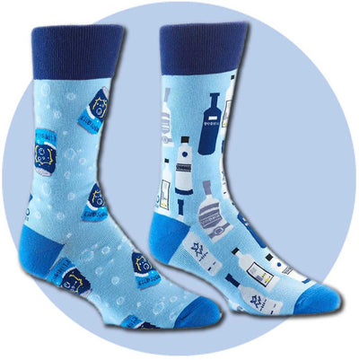 men's socks - Vodka and Soda