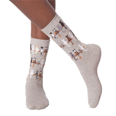 Women's Socks - Cat Tails