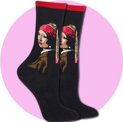 Women's Socks - Girl With Pearl Earring