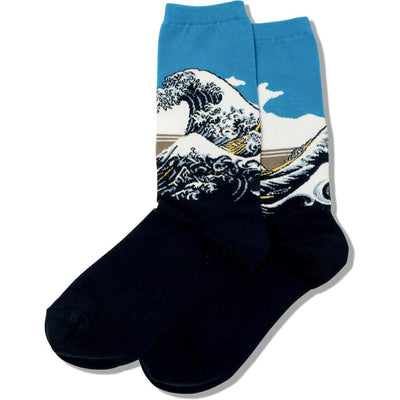 Women's Socks - Great Wave