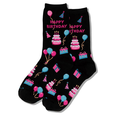 Women's Socks - Happy Birthday