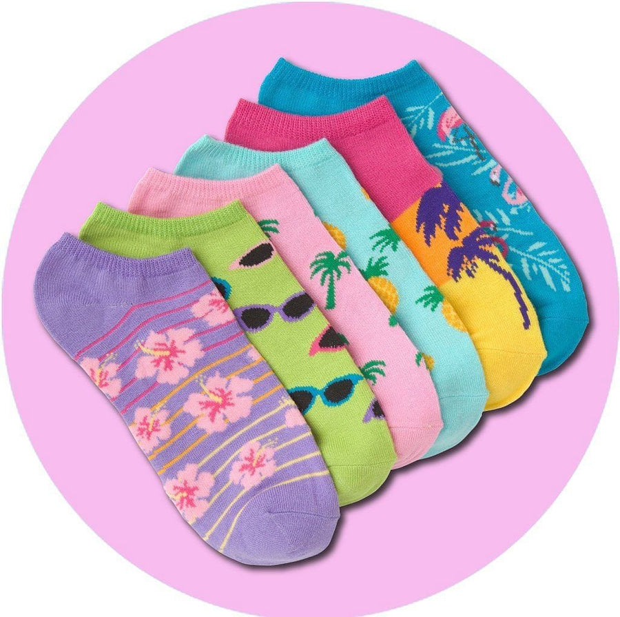 Women's Socks - Palm Beach Ankle Socks
