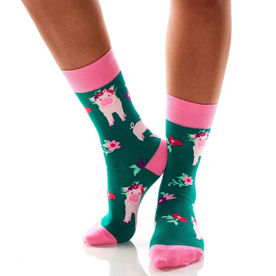 Women's Socks - Pig Power