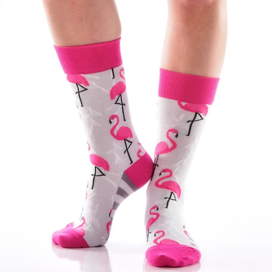 Women's Socks - Pink Flamingos