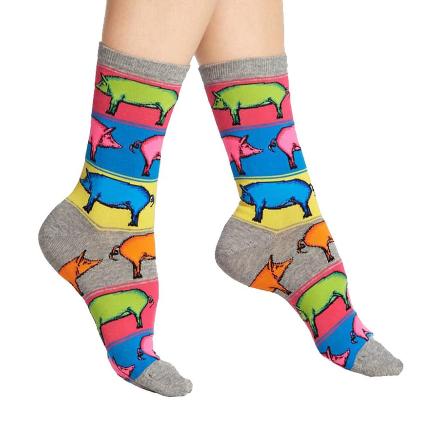 Women's Socks - Pop Pigs