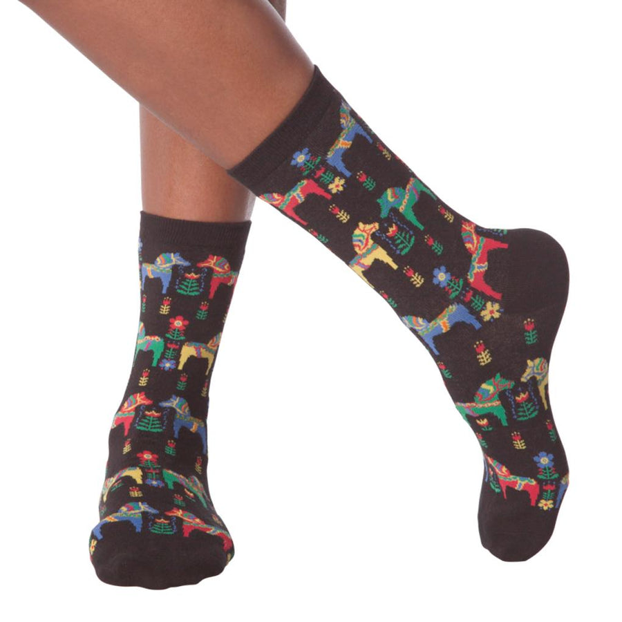 Women's Socks - Swedish Horses