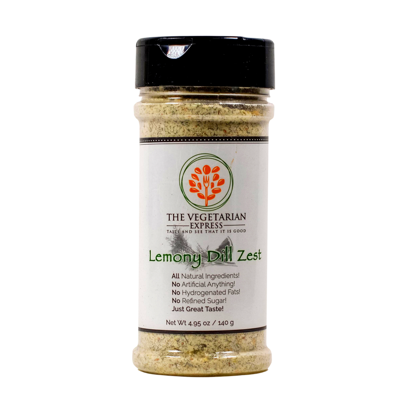 Lemony Dill Zest Seasoning 4.95 oz
