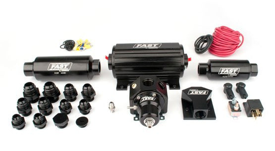 Race Inline Fuel System; Up-to-1900 Naturally Aspirated Horsepower (Up-to-1400 Forced Induction)