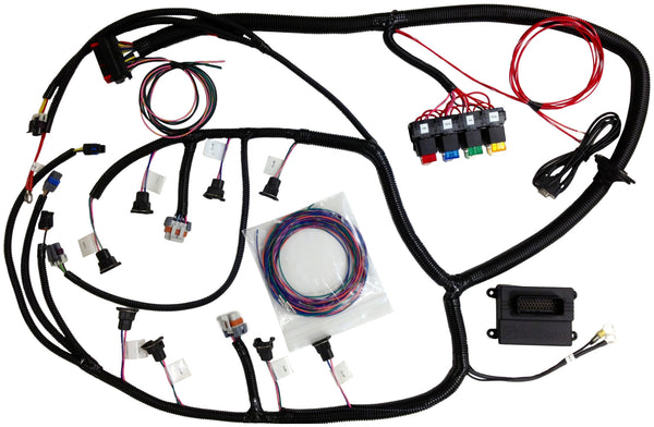ls1 24x modified microsquirt� ecu with plug and play harness fox E2 Wiring Harness ls1 24x modified microsquirt� ecu with plug and play harness fox injection