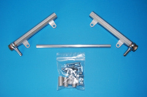 TBR42 Fuel Rail Kit banjo 2 twins