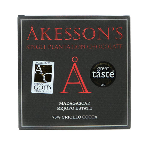 Dark Chocolate - Akesson - Madagascar 75% Criollo, Organic