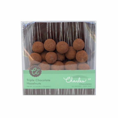 Charles Chocolate - Triple Chocolate Hazelnuts