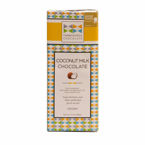 Charm School Chocolate - Coconut Milk Chocolate