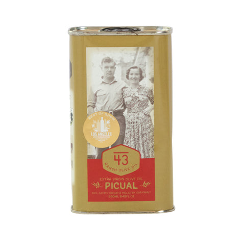 Medium 43 Ranch Olive Oil  Picual 2019 Harvest 500ml