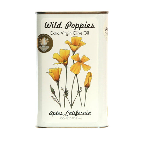 Robust Wild Poppies - Ascolano Extra Virgin Olive Oil 2018 Harvest
