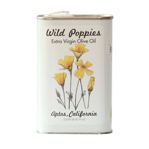 Medium Wild Poppies - Tuscan Extra Virgin Olive Oil 2018 Harvest