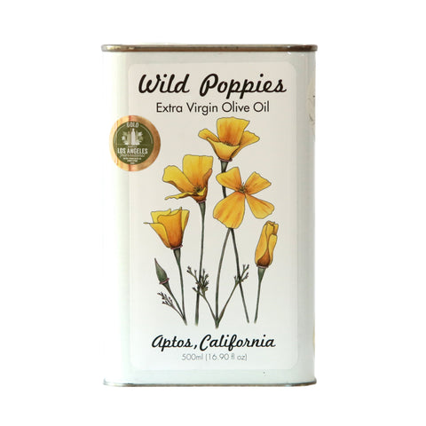 Robust Wild Poppies - Banthien Extra Virgin Olive Oil 2018 Harvest