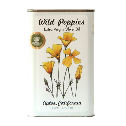 Medium Wild Poppies - Taggiasca Extra Virgin Olive Oil 2018 Harvest