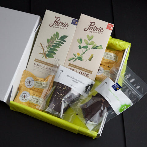 Chocolate/HoneyBar/ Brittle - Good Food Award Winning Collection