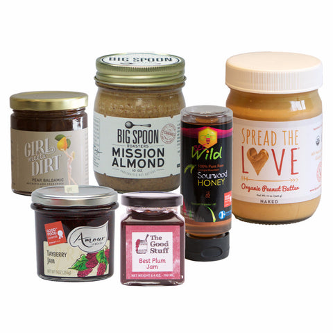 Jams and Nut Butters and Honey, Oh My!
