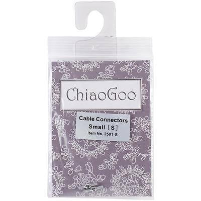 ChiaoGoo Interchangeable Circular Knitting Needle Cable Connectors - Set of 2 Small | KNITTING CO. - 1