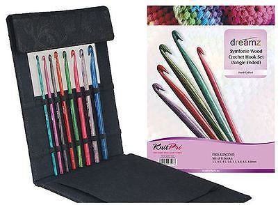 "KnitPro ""Dreamz"" Symfonie Crochet Hook Set  