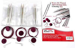 "KnitPro ""Nova Metal"" IC Circular Knitting Needle - Chunky Set  