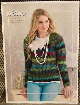 "Noro ""Beauty"" Ladies Cardigan Knitting Pattern Leaflet  
