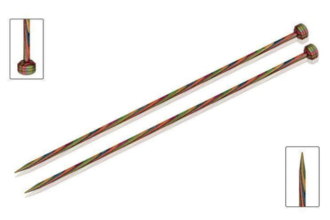 "KnitPro ""Symfonie"" Wood Single Point Knitting Needles Pair (Dif Sizes)  