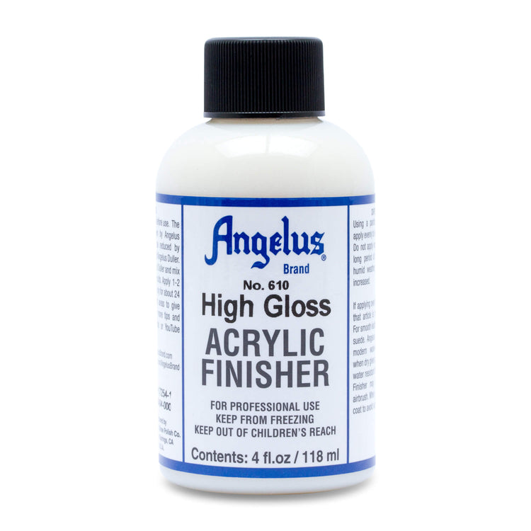 Angelus Leather Acrylic Finisher - High Gloss (#610)