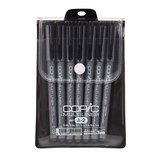 Copic Multiliner Permanent Inking Pens - Black Sets (Choose Your Pack)
