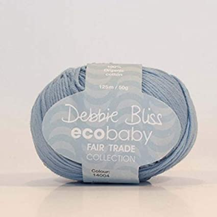 "Debbie Bliss 50g ""Eco Baby"" 5-Ply Organic Cotton Yarn"